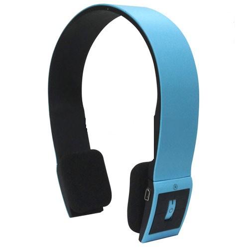 blau stereo bluetooth kabellos ohrh rer kopfh rer headset. Black Bedroom Furniture Sets. Home Design Ideas