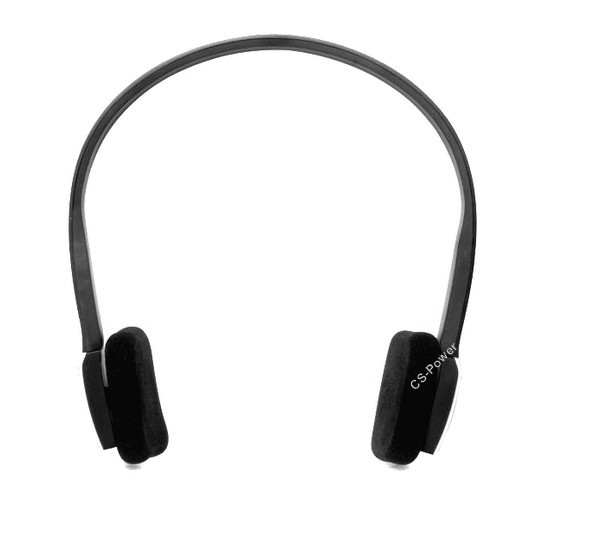 noir wireless sans fil bluetooth casque ecouteur headphone pour iphone ipod ster ebay. Black Bedroom Furniture Sets. Home Design Ideas