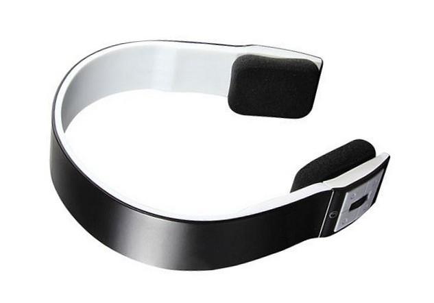 noir wireless sans fil bluetooth casque ecouteur headphone pour iphone ipod ster ebay. Black Bedroom Furniture Sets. Home Design Ideas