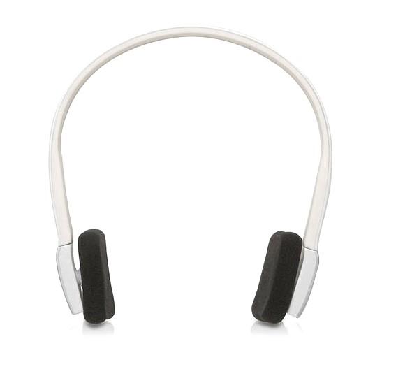 blanc wireless sans fil bluetooth casque ecouteur headphone pour iphone ipod st ebay. Black Bedroom Furniture Sets. Home Design Ideas