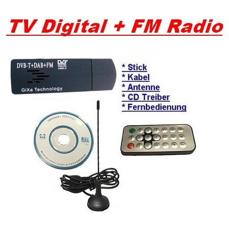 usb 2 0 dvb t stick hd digital tv fm radio hdtv mpeg4 vista w7 xp f r pc laptop ebay. Black Bedroom Furniture Sets. Home Design Ideas