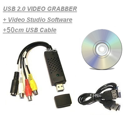 USB-2-0-Audio-Video-Grabber-Videoschnitt-VHS-DVD-Kassetten-Digitalisierer-Vista