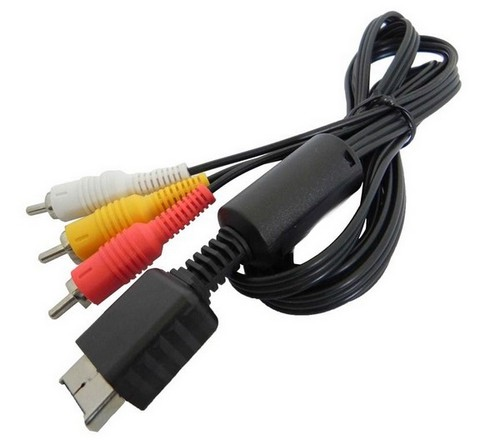 Cable AV TV Pour Console Sony Playstation 3 2 1 PS1 PS2 PS3 Peritel 3