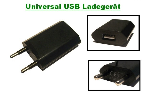 universal usb netzteil steckdose reiselader ladeger t adapter handy ladekabel ebay. Black Bedroom Furniture Sets. Home Design Ideas