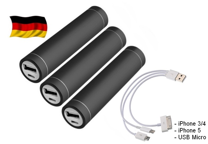 3x-2600mAh-Power-Bank-Extern-Akku-fue-Smartphone-iPhone-Nokia-HTC-Samsung-Schwarz
